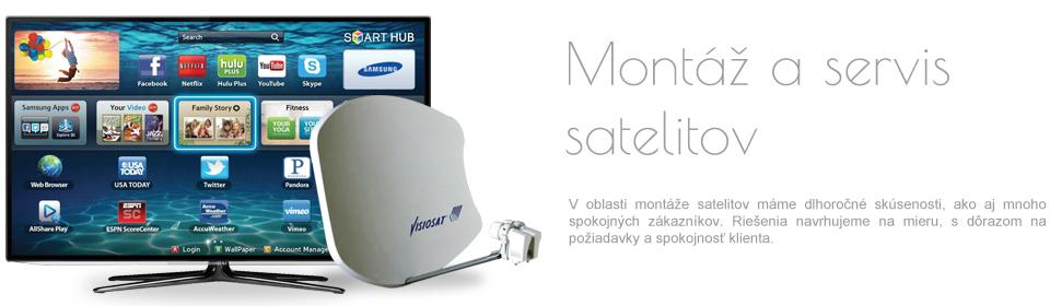 Montáž a servis satelitov
