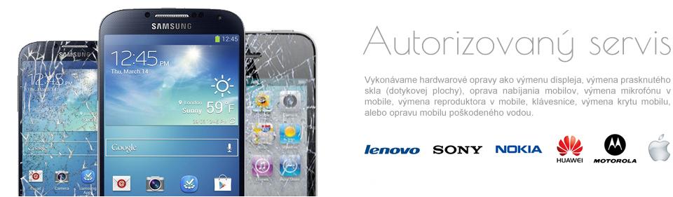 Výmena poškodeného display-a Samsung a Iphone